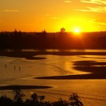 Ballina River view sunsets